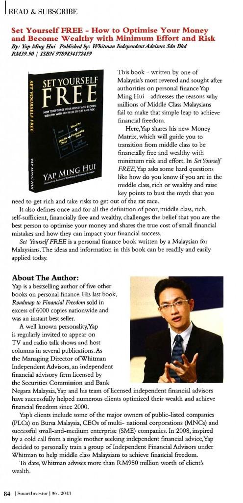 Smart Investor- Book Review - 24 Jun 2013