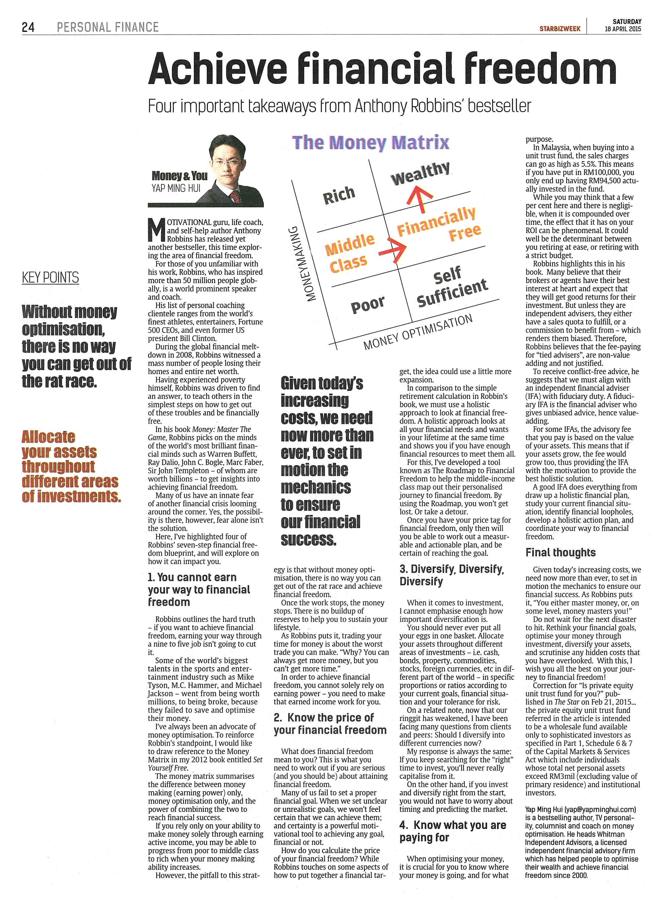 financial freedom malaysia