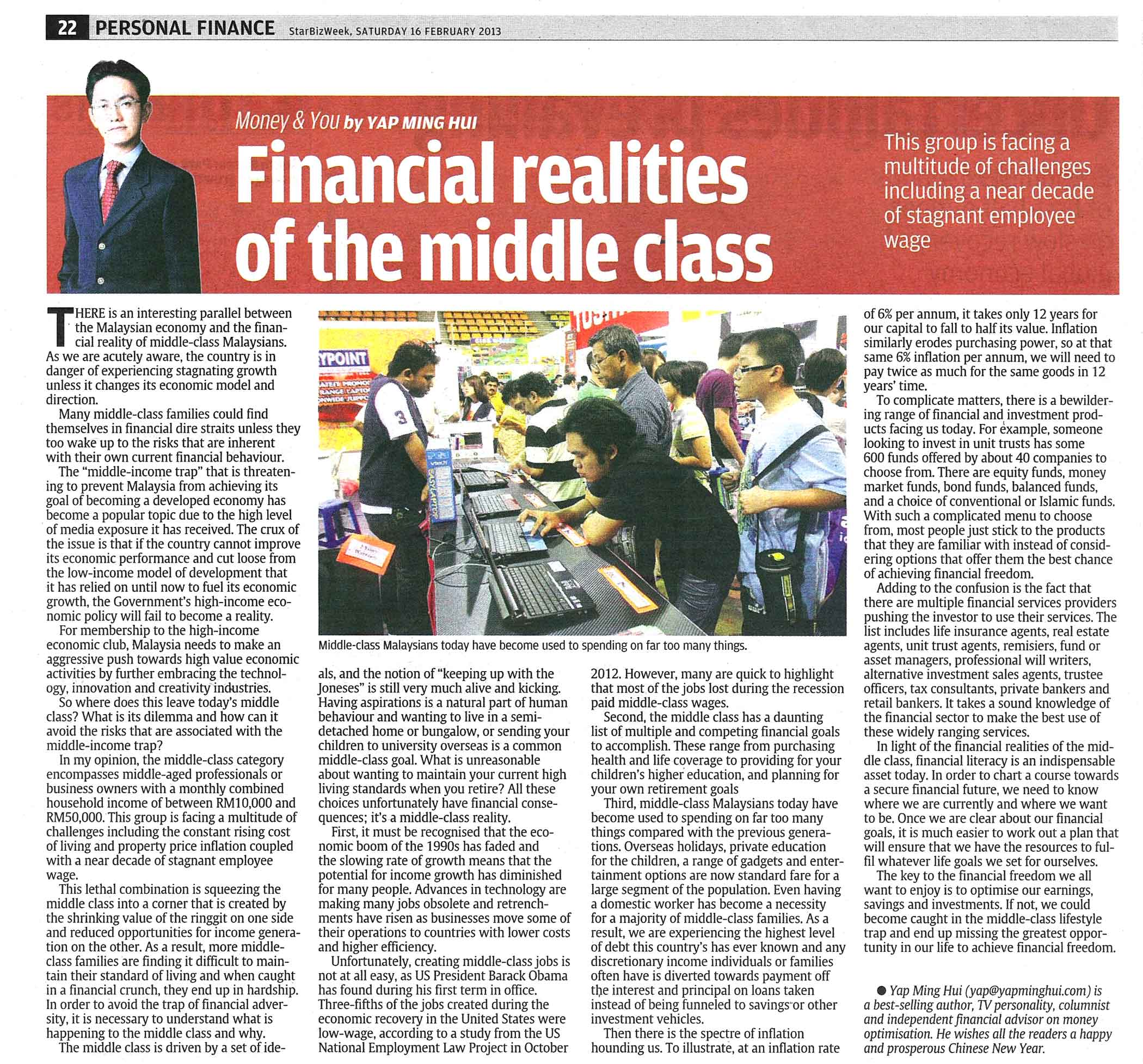 Financial Realities of the Middle Class - 16 Feb 2013