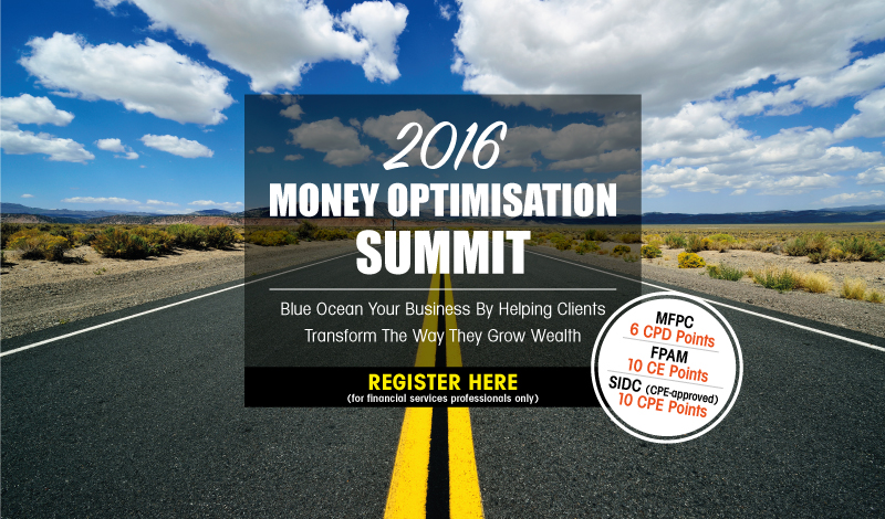 2016 Money Optimisation Summit