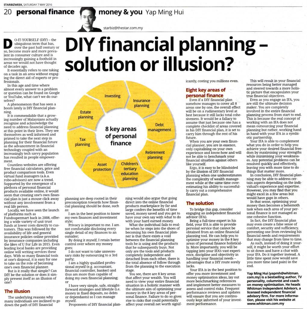 DIY Financial Planning Malaysia