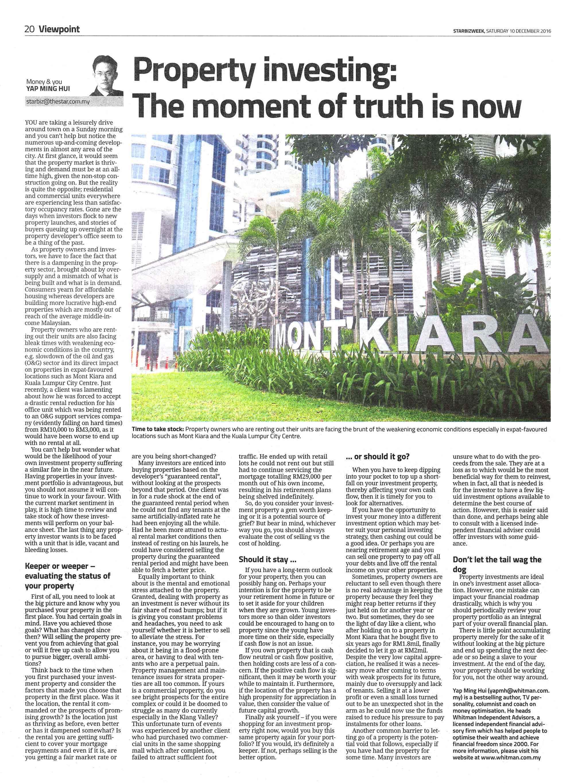 Property investing Malaysia & Petaling Jaya