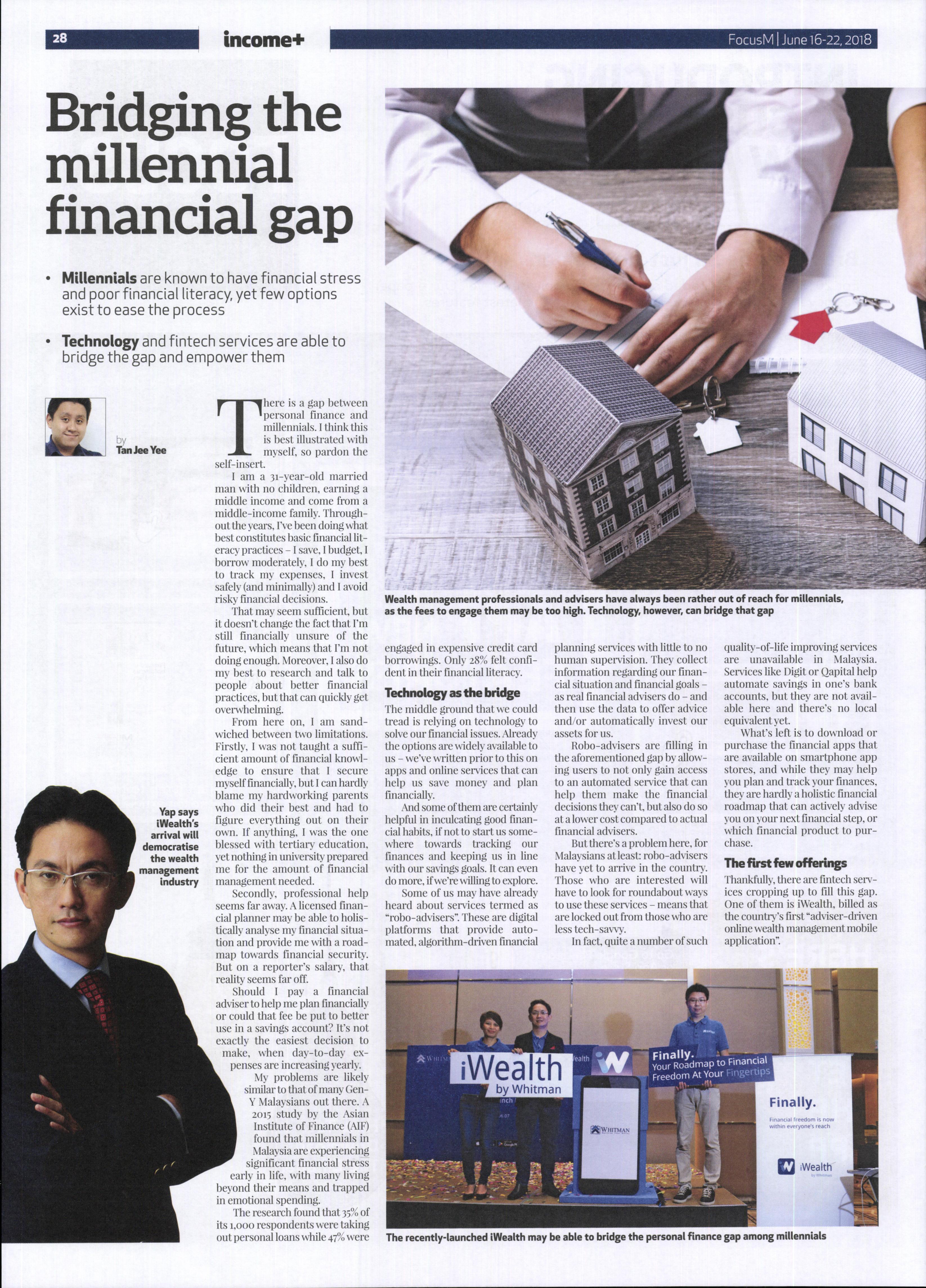 Bridging the millennial financial gap