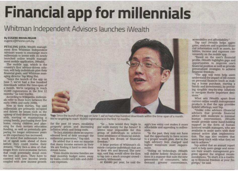 Financial App For Millennials
